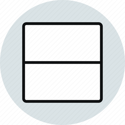 grid, horizontal, interface, layout, ux, workspace icon