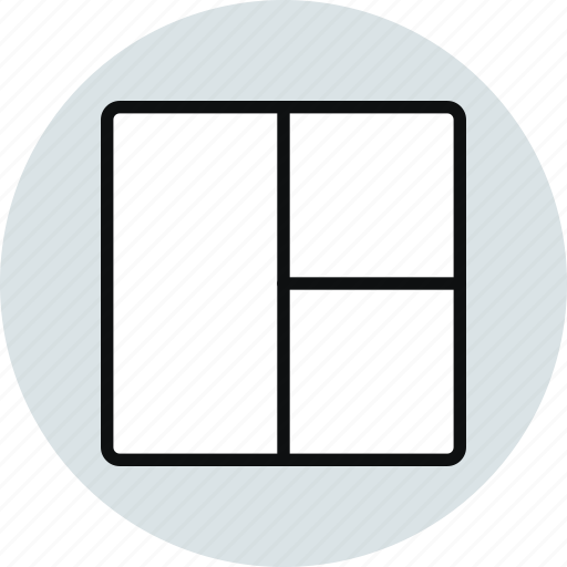 blocks, grid, interface, layout, stacked, ux, workspace icon
