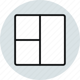 column, grid, layout, row, stacked, workspace icon