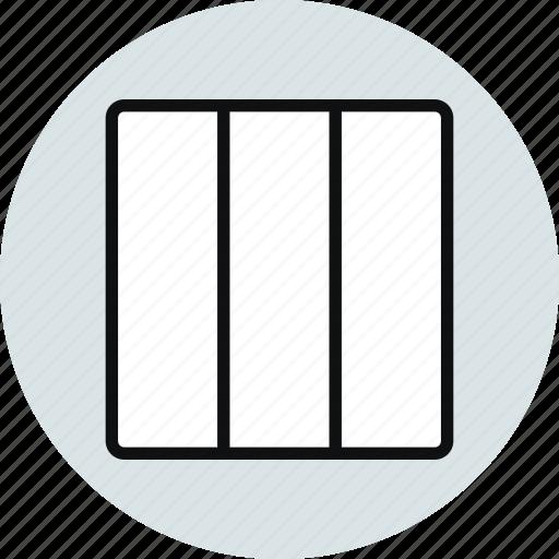 block, column, columns, grid, layout, vertical, workspace icon