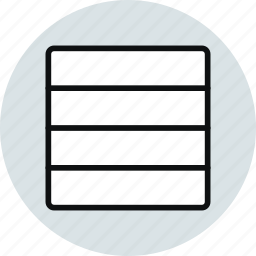 column, grid, horizontal, layout, row, workspace icon