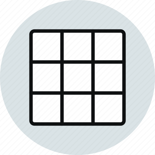 block, column, grid, layout, row, workspace icon