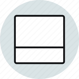 block, grid, horizontal, interface, layout, workspace icon