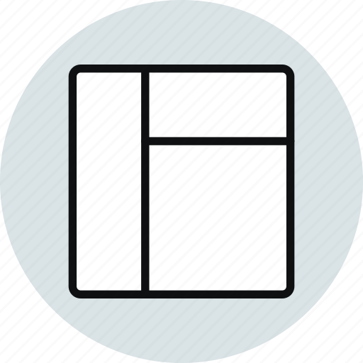 blocks, column, grid, layout, row, stacked, workspace icon