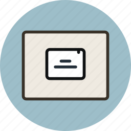 grid, layout, popup, window, wireframe icon