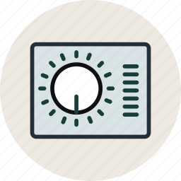 gauge, grid, layout, options, preferences, settings, wireframe icon