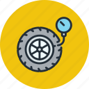 car, pressure, pump, tire, wheel
