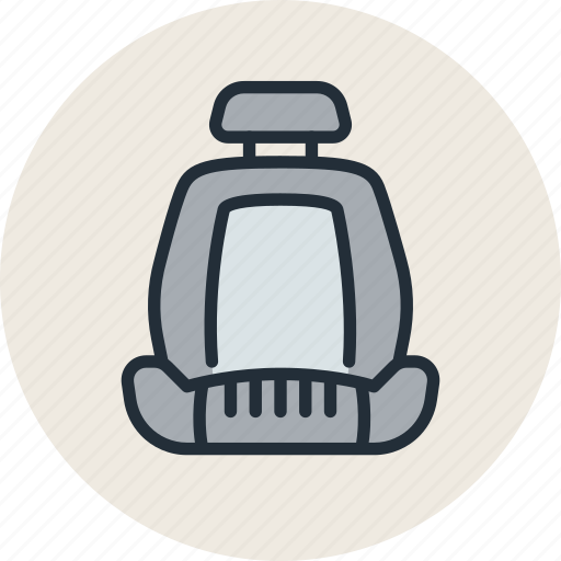 auto, car, chair, seat icon