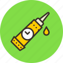 adhesive, glue, gum, mechanic, pasta, quick icon