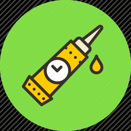 adhesive, glue, gum, mechanic, pasta, quick icon