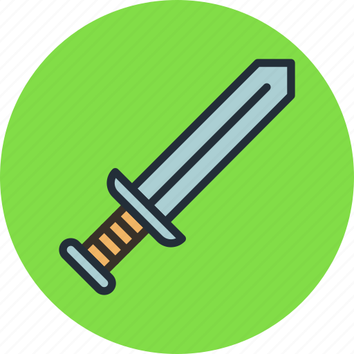 knowledge, military, sword, war, weapon icon