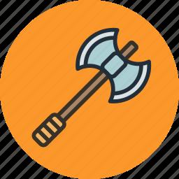 axe, military, viking, war, weapon icon