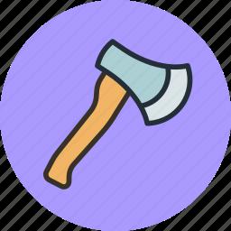 axe, hatchet, military, tomahawk, weapon icon