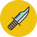 combat, knife, military, war, weapon icon
