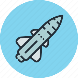 cruise, military, missile, rocket, war icon