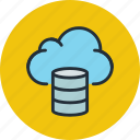 backup, cloud, database, hosting, storage