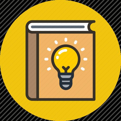 advice, book, help, howto, idea, knowledge icon