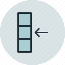 column, data, database, import icon