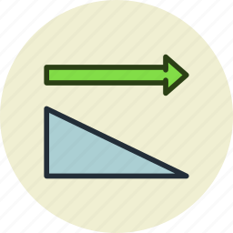 horizontally, sort, sorting icon