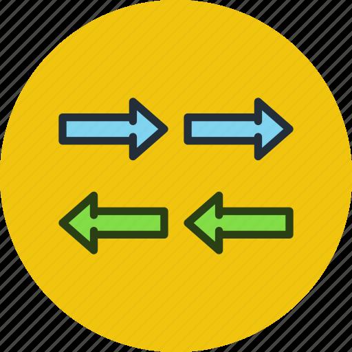 data, export, import, traffic icon