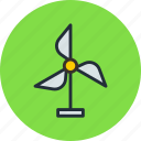 battery, eco, future, generator, science, wind icon