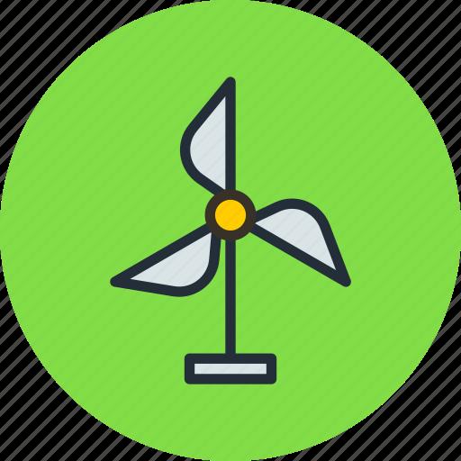 battery, eco, future, generator, science, wind icon