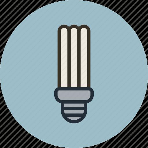 energy, lamp, light, saving icon