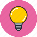 bulb, lamp, led, light, lightbulb icon