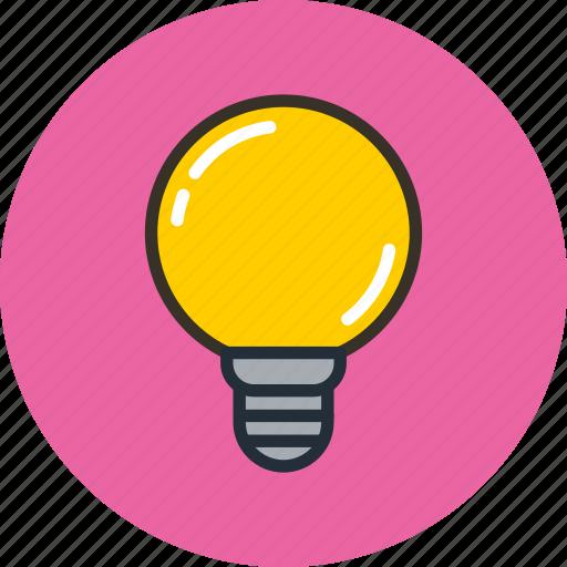 bulb, lamp, led, light, lightbulb icon
