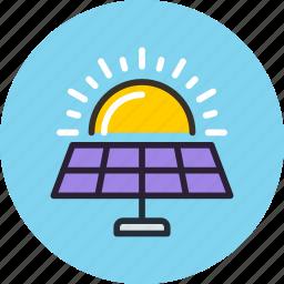battery, eco, energy, future, science, solar, sun icon
