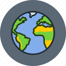 earth, planet, science, solar, space, system, world icon