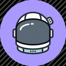astronaut, cosmonaut, cosmos, helmet, science, space, suit icon