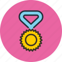 bonus, champion, medal, reward, sport, winner icon