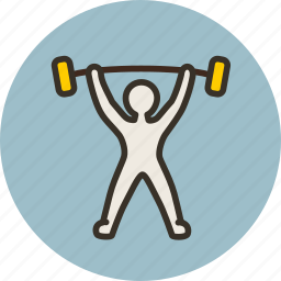 gym, heaviness, olympic, powerlift, powerlifting, sport, weightlift icon