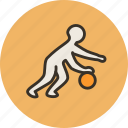 ball, basketball, dribble, games, jordan, sport icon