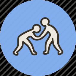 fight, fighting, judo, kadochnikov, karate, sambo, sport icon