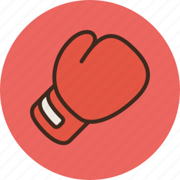 boxing, competition, fighting, game, glove, knock, sport icon