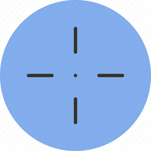 aim, goal, mark, target icon