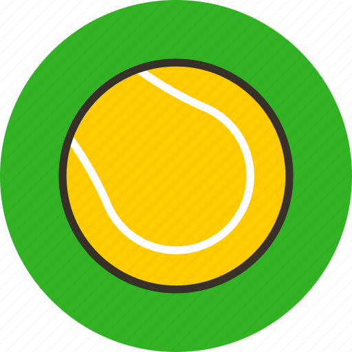 Ball, game, sport, tennis icon - Download on Iconfinder