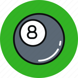 ball, billiard, game, pool, sport icon