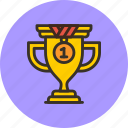achievement, award, cup, prize, sport, trophy, win icon
