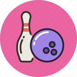 ball, bowling, game, skittle, sport icon