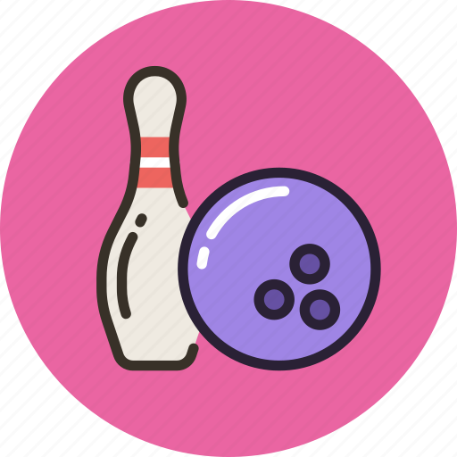 Ball, bowling, game, skittle, sport icon - Download on Iconfinder