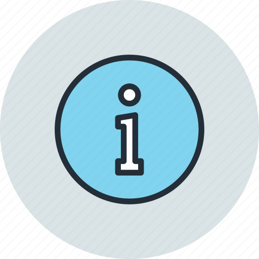 circle, info, information, sign icon
