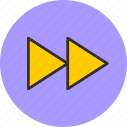 arrow, foward, next, player, rewind, right icon