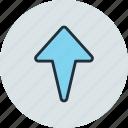 arrow, rise, top, up
