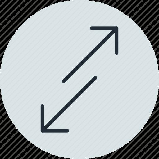 arrow, arrows, change, move, scale icon