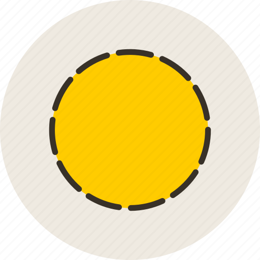 cicrcle, dotted, logo, sign icon