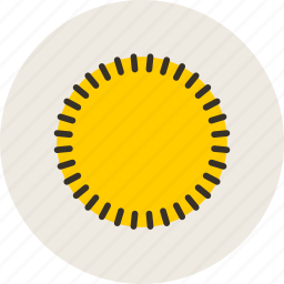 cicrcle, logo, radial, ray, sign icon