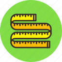 measure, ruler, size, tools, width icon